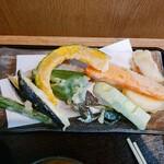味ごよみ - 天ぷらを並べてみた 9種類