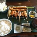 串揚処 ぶらんにゅう亭 - 料理写真: