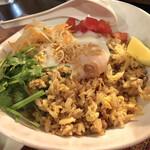 池袋AsianBistro Tao - ナシゴレン。この後混ぜて美味しくいただきました