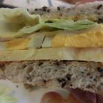 134173665 - ハムチーズトーストサンド