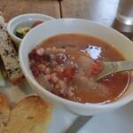 134173673 - トマト雑穀スープ