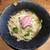 町田汁場 しおらーめん進化 - 料理写真:2020年夏期限定第2弾・カマス出汁の冷製麺(1000円)