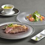 シエルブルー - 料理写真:三ヶ日牛ステーキコース5,500円(税込)