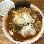 水鶏 - 料理写真:醤油なんばん野菜ラーメン