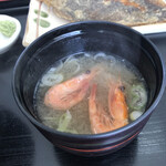 おろろん食堂 - 甘海老の味噌汁