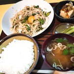 大豪 - 料理写真:野菜炒め定食