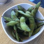 もつ焼きおとんば - 夏枝豆