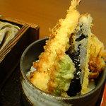 小嶋屋 - 小盛り天丼
