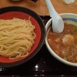 山岸一雄製麺所 - 「つけ麺生ビールセット」のつけ麺