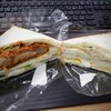 クッキングパン・サンドイッチ えがみ - 料理写真:メンチ&ポテサラ、ツナ&たまご