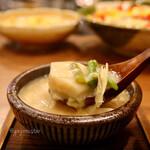 煮炊き すずなり - 里芋と海老の湯葉あん