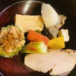 佳景 - オクラ、ナンキン、チーズ