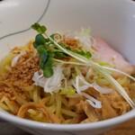 貝ガラ屋 - 限定 ガーリック牡蠣つけ麺