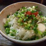 麺屋 二刀拳 - 梅炙り飯