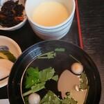 うなぎすみの坊 - 茶碗蒸し・吸い物