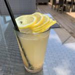 フタバ フルーツ パーラー - スライスレモン1枚、2枚、3枚、4枚、5枚 底には発酵レモンのクラッシュ、、、美味い