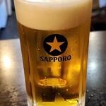 大衆酒場 焼き鳥 桂 - ビールはサッポロです
