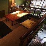モーモー亭 - 2階席はお座敷になってます。2名様~8名様まで。こちらもお電話にてご予約可能です。