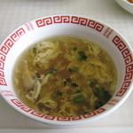 李さんの店 - とろみのある玉子スープ