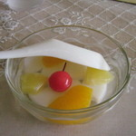 李さんの店 - デザートの杏仁豆腐