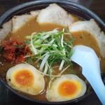 麺職人 暖家 - 田舎味噌チャーシューメン 大盛