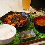 ゴリラ食堂 - 麻婆豆腐定食