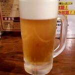 134202207 - 生ビール:572円