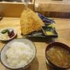 スシイザカヤ 楽 ハワイ - 料理写真:ジャンボアジフライ定食
