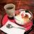 純喫茶マウンテン - プリン(自家製/限定品 800円税込)。