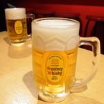 もくち - 生ビール 300円