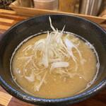 134211266 - 銀ダラの煮付けの煮汁を凝縮したようなスープ