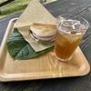 <ガーデンカフェ>ラウラウ - 料理写真:森のパニーノ パイヌス・ムゴソーダ付き1200円