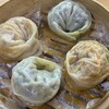 Pekuche - 料理写真:手作り蒸し餃子肉餃子とキムチ餃子の2種類が楽しめます。