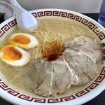 双喜紋 - 料理写真:ネギ抜き、ニンニク・辛味アリアリ の超コッテリ仕様+味付けたまごトッピング