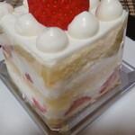 広島アンデルセン - 苺のショートケーキ