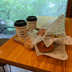 ベーカリー&テーブル 東府や - 『ブレンドコーヒー』  396円(税込) x 2