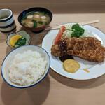 とんき - 『ロースかつ定食』 1,600円