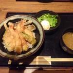 海へ - 海鮮天丼