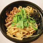 三田製麺所 - 【油そば(並盛)/ネギめしセット ¥1.090】