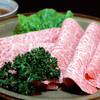 炭火焼ステーキ あおき - 料理写真:しゃぶ焼き 1960円