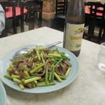 ミスターチン - ニンニクの茎と牛肉の細切り炒め