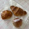 foyer boulanger - 料理写真:クリームパン100円、栗あんぱん100円、クロワッサン160円