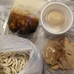 ラーメン二郎 - 【テイクアウト】SHつけ麺(ノーマル)購入時
