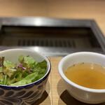 134231989 - サラダ、スープ