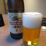 網焼レストラン 見蘭 - 瓶ビール(大瓶) 660円 (2020.7)