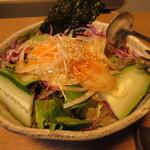 網焼レストラン 見蘭 - チョレギサラダ 660円 (2020.7)