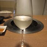 網焼レストラン 見蘭 - 獺祭 磨き三割九分 770円 (2020.7)