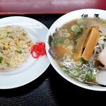 但馬ラーメン春日森店 - 料理写真:焼き飯定食