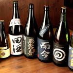かどはち 燻 - 時期に合わせた日本酒をご用意してます