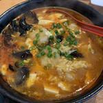 台湾料理 太和菜工坊 - サンラー刀削麺